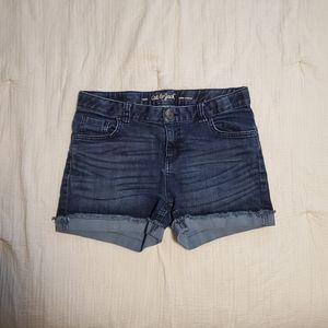 Girls XL cat and jack shorts
